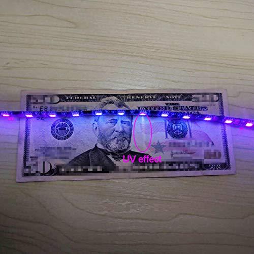 Computer Case Lighting UV Strips PC LED Light Strip  w// Magnetic Purple Lights