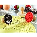 Générique 011318 Tampon pour Biscuit Exprimé Fait Maison - Marron