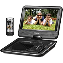 """UEME 9"""" Portable DVD Player CD Player with Car Headrest Mount Holder 