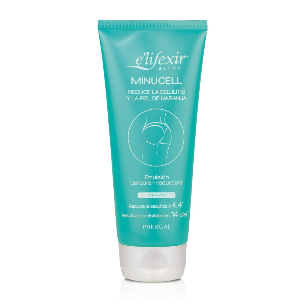 E'LIFEXIR Minucell - Anti-Cellulite Reducing Cream   Tightens and Remodels Body Contour   Reduces Cellulite and Orange…