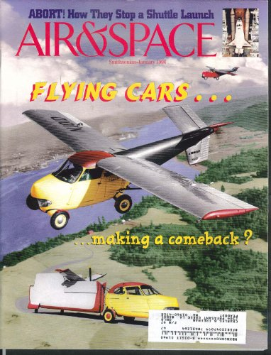 AIR & SPACE Smithsonian Flying Car Space Shuttle Abort 1 1996 ()