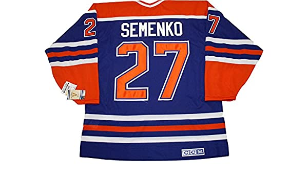 pretty nice 46af6 e0160 Dave Semenko Edmonton Oilers CCM vintage jersey, Jerseys ...