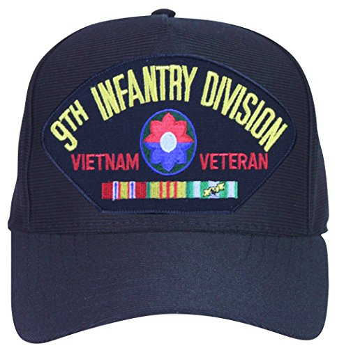 - MilitaryBest 9th Infantry Division Vietnam Veteran with Patch and Ribbons Ball Cap