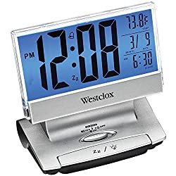 NYL72021X - WESTCLOX 72021X Electric LCD-Display USB-Charging Alarm Clock