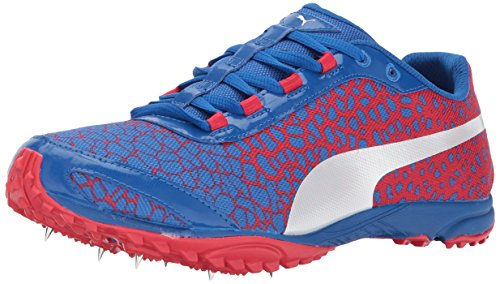 PUMA Mens Evospeed Haraka 4 Track-Shoes, Lapis Blue-Toreador, 9.5 M US Lapis Blue-toreador