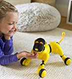 HearthSong Gizmo The Voice Controlled Robotic Dog - Electronic Pet Toy for Kids - 13 L x 5 W x 7'' H, Yellow