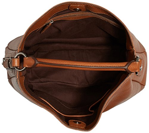 Bogner Aisha 0401964023, Borsa donna, 40x27x14 cm (L x A x P) Marrone (Braun (New-cognac 259))