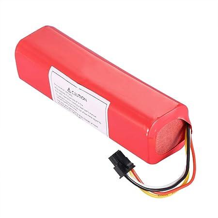 Jadpes Batería reemplazable para Robot de Barrido, batería de ...