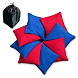 AceLife Weather Resistant Cornhole Bags Set of 8 with Recycled Plastic Pellets