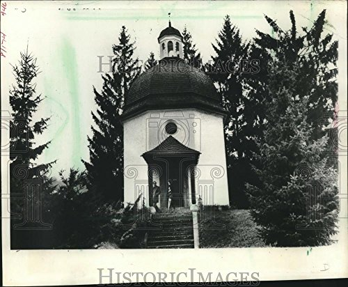 Vintage Photos 1987 Press Photo The Silent Night Chapel on St. Nicholas Church site in Austria
