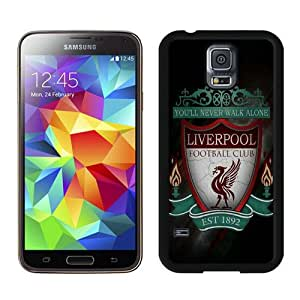 Liverpool 2 Black Case for Samsung Galaxy S5 i9600,Prefectly fit and directly access all the features
