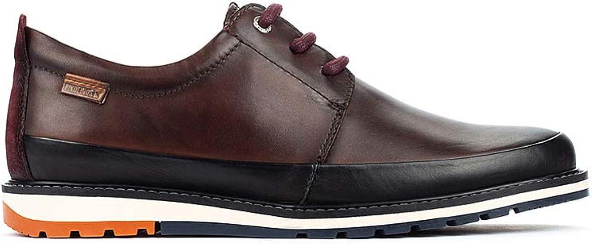 TALLA 42 EU. Pikolinos Berna M8j, Zapatos de Cordones Derby para Hombre