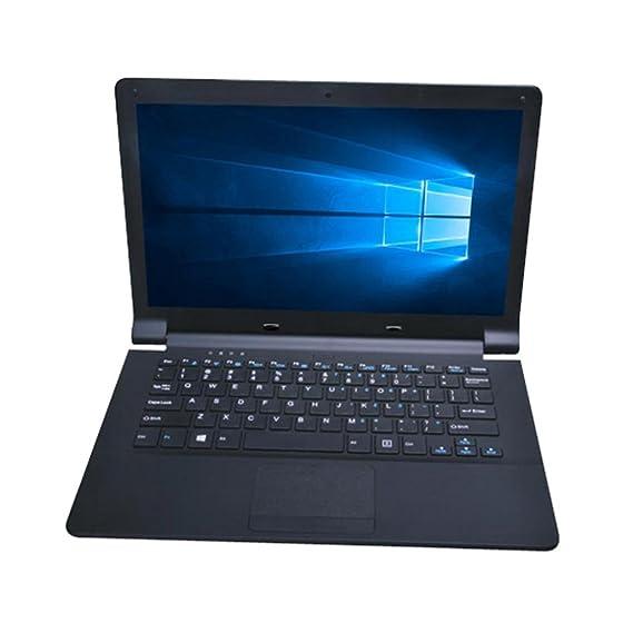 Ordenador portátil Xinan Ordenador portátil ultra delgado de cuatro núcleos Pantalla de visualización de 11.6 1920 * 1080P 2G + 32G Windows10 (☆Negro): ...