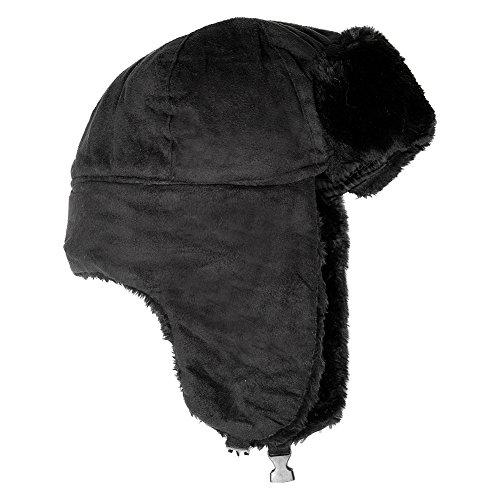 Accessoryo Unisex marrone Svezia nero Trapper o micro disponibile in Cappello rxngrqA