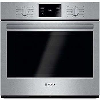 "Bosch HBL5451UC 500 30"" Stainless Steel Electric Single Wall Oven - Convection"