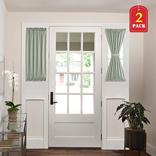 Compare Price Door Panel Curtain Green On Statementsltd Com