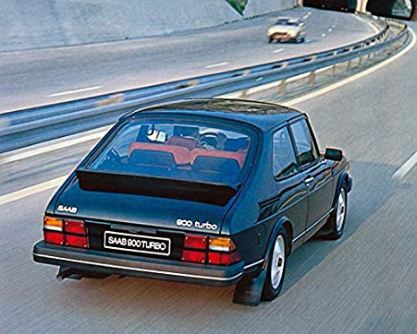Amazon.com: 1980 Saab 900 Turbo Automobile Photo Poster: Entertainment Collectibles