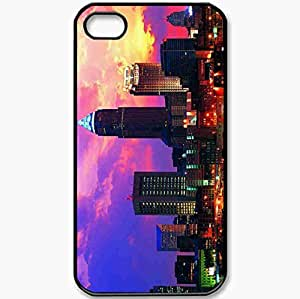 Protective Case Back Cover For iPhone 4 4S Case Cleveland Black