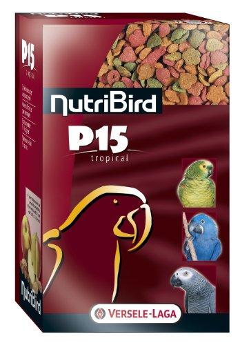 Versele-Laga Erhaltungsfutter Nutribird P15 Tropical für Papageien 1kg