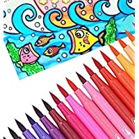 Oytra Water Color Brush Pens | 18 Colours | Fun of Painting Without Mess with Watercolour Pen