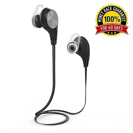2619d44e47c B-SONIC Sport Bluetooth Wireless Headphones - 4.1 Bluetooth & Noise  Cancelling Technology - Deep