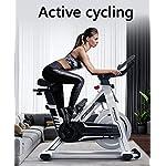 Allenamento-Spin-Bike-Professionale-Cyclette-Aerobico-Home-Trainer-Portaborraccia-Sportivo-Staffa-Multifunzionale-Doppio-Volano-Orologio-Elettronico-Multifunzionale-Sistema-Di-Resistenza-Inf