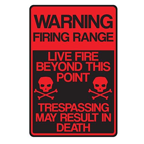 Warning Firing Range 10