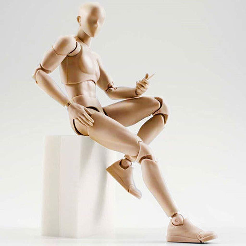artista Bibao Action Figure per modello artistico Action Figure umano modellazione cartoon Figures Action schizzi perfetto per disegni pittura