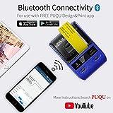 PUQU Label Printer | Portable Bluetooth Thermal