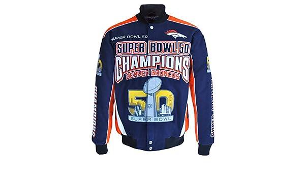 factory price 42156 f1ed6 Amazon.com : Denver Broncos G-III Super Bowl 50 Champions ...