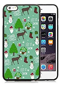 Custom-ized Phone Case Cover For Apple Iphone 5C Merry Christmas Black Case Cover For Apple Iphone 5C PC Case 18