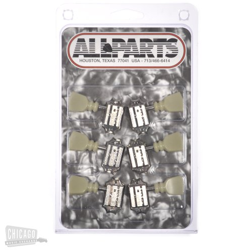 Allparts Schaller Tuning Keys Nickel (Schaller Tuning Keys)