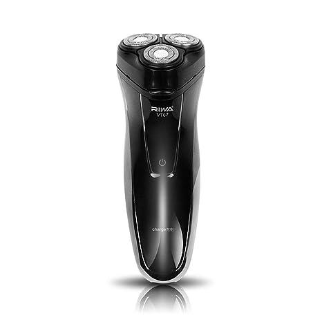 RIWA maquinilla de afeitar eléctrica recargable sin cuerda eléctrica  afeitadora mojado y seco para HOMBRES - a14d7d905b6c