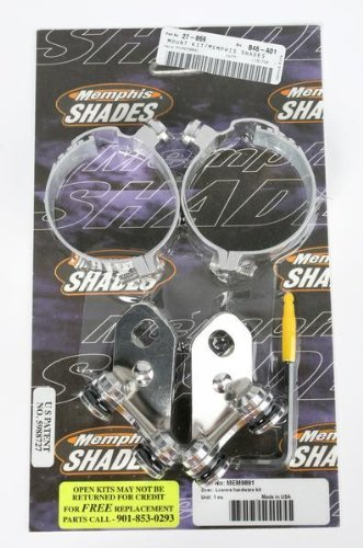 98-04 SUZUKI VL1500: Memphis Shades Lowers Mounting Kit Hardware (Fats And Slim Windshields)
