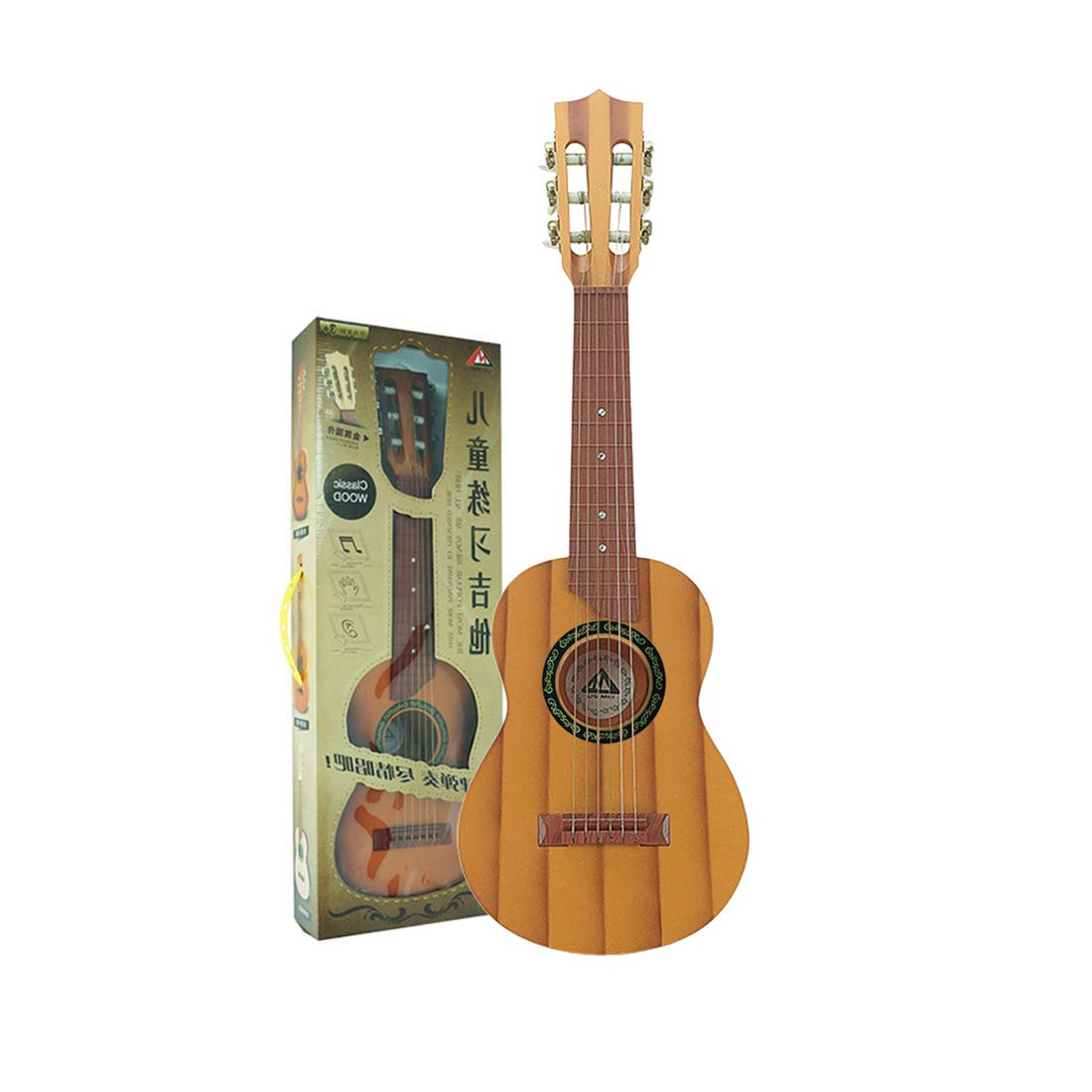 RuiyiF Kids Guitar for Beginners Boys Girls Toy Acoustic Guitar for Kids 5-9 with Pick Strap-27 Inch