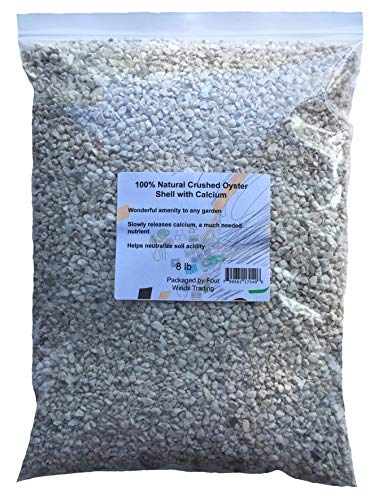 100% Natural Crushed Oyster Shell with Calcium (8 lb)