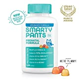 Health & Personal Care : SmartyPants Prenatal Formula Daily Gummy Vitamins: Gluten Free, Multivitamin, Folate (Methylfolate), Omega 3 (Dha/Epa) Fish Oil, Methyl B12, vitamin D3 (30 Day Supply) - Packaging May Vary
