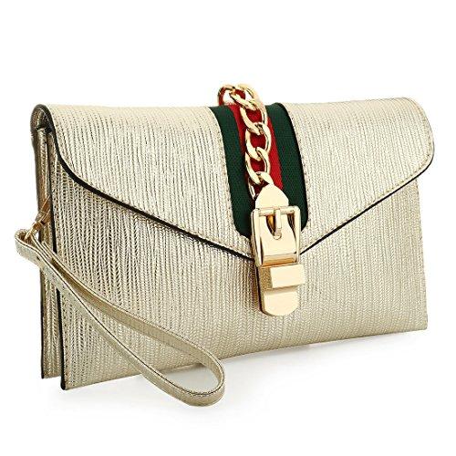 Pochette Evening SSMK pour Bag femme Doré F1aKgp