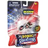 Sonic Sega AllStars Racing Vehicle with 1.5 Inch Figure Shadow
