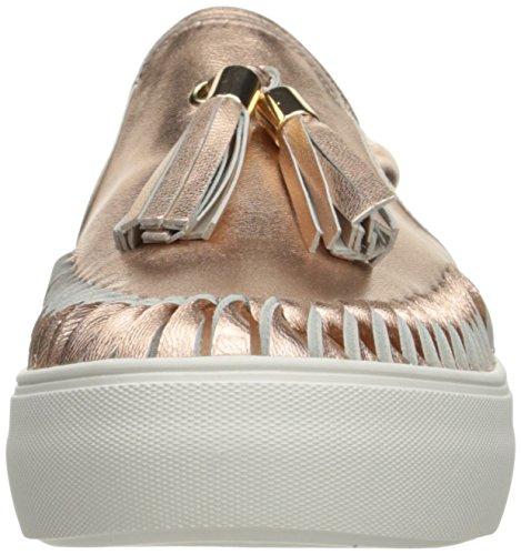 J Slides JSlides Damen Aztec Fashion Sneaker Roségold