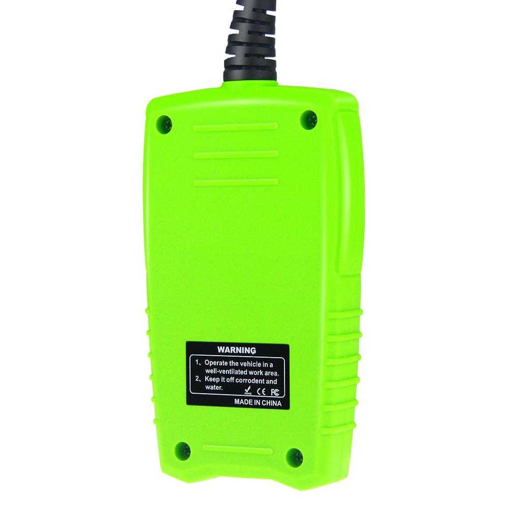 JDiag FasCheck BT-200 Professional Car Load Battery Tester 12V 100-2000 CCA 220AH Digital Battery Analyzer Bad Cell Test Tool for Automotive/Truck/Motorbike Etc(Green) by JDiag (Image #2)