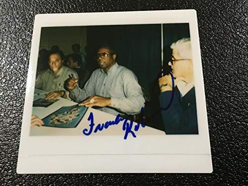 Frank Robinson Autographed Signed Memorabilia Kodak Instant Polaroid Photo Photograph JSA Autograph 80S