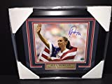 Alex Morgan Signed Photo - Flag 2015 Team Usa World Cup Champion 8x10 Framed - Autographed Soccer Photos