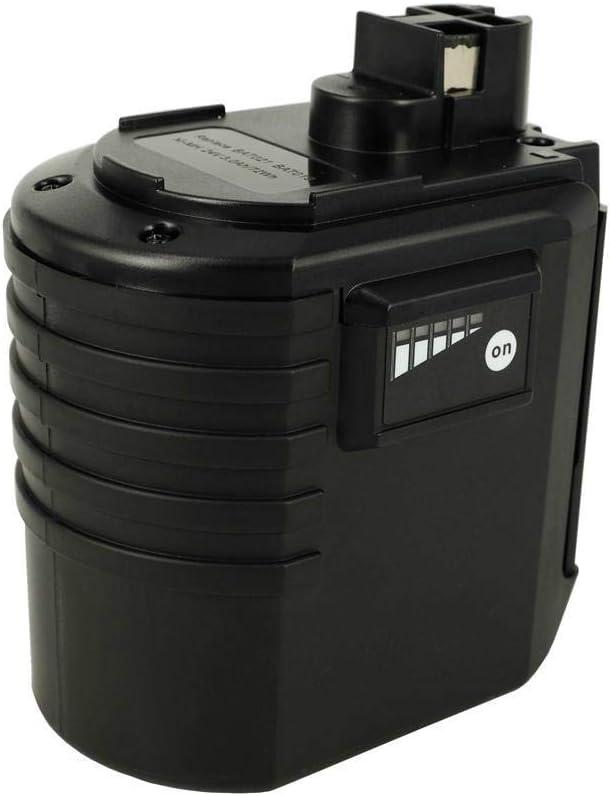 PowerSmart® Batería NiMH 24V 3000 mAh para Bosch 1c59, 4VRE, BBH2, BBH24VRE, BTI BHE 24VRE, GBH 24VR, GBH 24VRE, GBH 24VRF