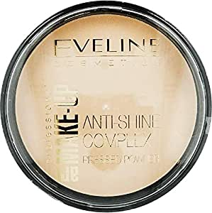Eveline cosmetics mattifting mineral powder with silk 32 natural