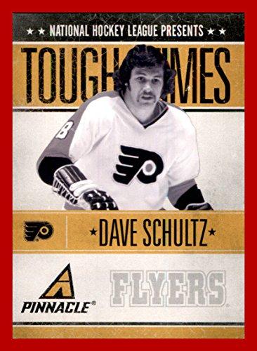 2010-11 Pinnacle Tough Times #DS Dave Schultz PHILADELPHIA FLYERS (bm)
