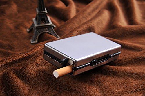 Quantum Abacus Pitillera automática de Aluminio, Elegancia Moderna, para 10 Cigarrillos, Mod. 490-03 (DE): Amazon.es: Equipaje