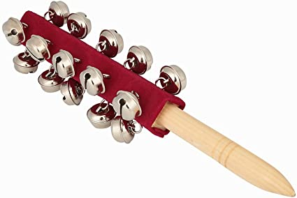 Baby Hand-Held Bell Percussion Instrument Educational Kids Musical Xmas Toy Gift