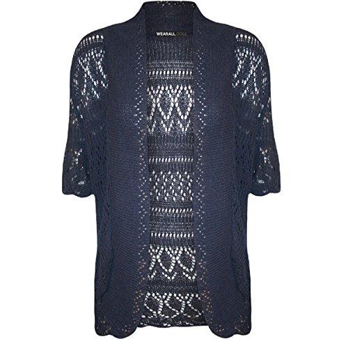 Donna Flaves Flaves Navy Fashion Fashion Coprispalle nzTxxOqw1