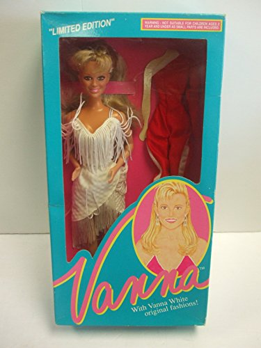 Vanna White Doll #007 Dress with Red and White